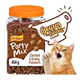 Friskies Party Mix Cat Treats, Gravy-Licious Crunch - 454 g