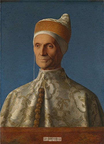 Oil Painting 'Giovanni Bellini Doge Leonardo Loredan', 30 x 42 inch / 76 x 106 cm , on High Definition HD canvas prints is for Gifts And Game Room, Home - Strap Bellini