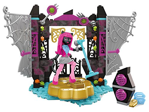 Mega Construx Monster High Catty Noir Stage Fright Building Set]()
