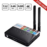 Android 7.1 TV Box, Superbow CSA93 T95M Smart Internet TV Box with 2GB RAM 16GB ROM, Amlogic S912 Octa-core 64 Bit WiFi Support 4K Full HD