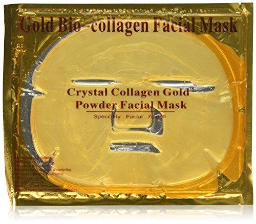 PU Beauty 5 Piece 24k Gold Premium Gold Collagen Face Mask B