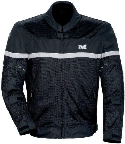 Tourmaster Draft Air Series 2 Mens Black/White Mesh/Textile Jacket - Medium