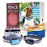 Redhound Inground Dog Perimeter Fence to Prevent Pets Escaping - Easy...