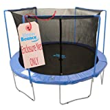 Upper Bounce Trampoline Enclosure Safety Net with Sleeves on top Fits For 14-Feet Round Frame Using 3 Arches (Poles Sold Separately)