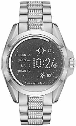 Michael Kors Access Touchscreen Silver-Tone Bradshaw Smartwatch MKT5000