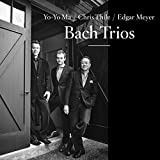 Nonesuch Records releases an album of Bach works recorded by cellist Yo-Yo Ma, mandolinist Chris Thile, and bassist Edgar Meyer, Bach Trios, on April 7, 2017, with the two-LP vinyl edition due April 21. The album comprises works by J.S. Bach original...