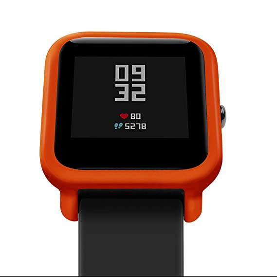 Amazon.com: Mini Mexx Soft TPU Protection Silicone Full Case Cover for Huami Amazfit Bip Youth Watch Silicone Full Case Cover 18Dec6: Kitchen & Dining
