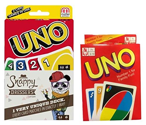 Snappy Dressers and Uno 2 Pack