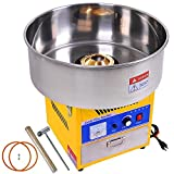 20'' Electric GEN3 Industrial Commerical Carnival Cotton Candy Machine Floss Maker - Yellow