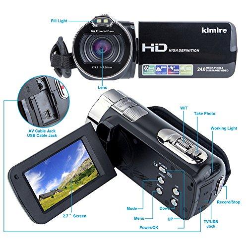 Buy vlogging camera under 100 with flip screen