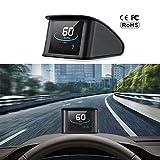 Best Heads Up Displays - CousDUoBe Car HUD Head Up Display, GPS Speedometer Review
