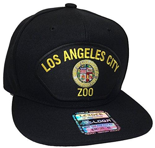 Los Angeles Zoo Hat Black Snapback