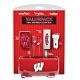 Wisconsin Badgers Mobile Accessory Value Pack