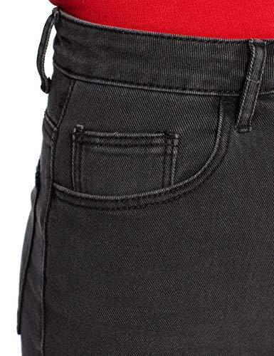 Mujer Para Weijl Cortos Negro Pantalones Tally Sjadepage x1zqXTZv
