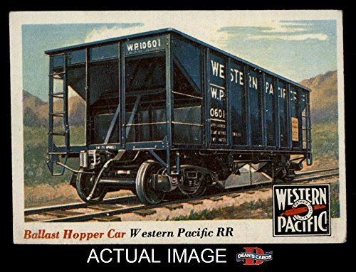 1955 Topps Rails & Sails # 29 Ballast Hopper Car (Card) Dean's Cards 3 - VG 1333526 ()