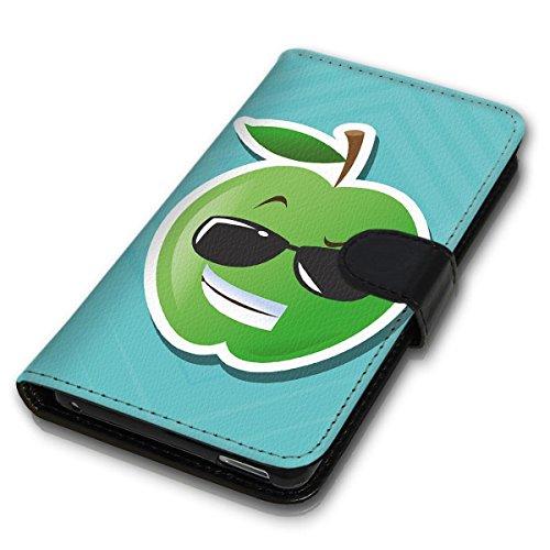 Wallet Book Style Flip Handy Tasche Case Schutz Hülle Schale Motiv Etui für Apple iPhone 6 Plus / 6S Plus - Design Flip MVD253