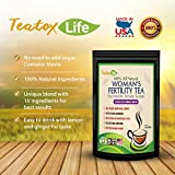 Vitex Chastetree Berry Fertility tea blend Greens formula to aid fertility in women -60 grams | Made in USA