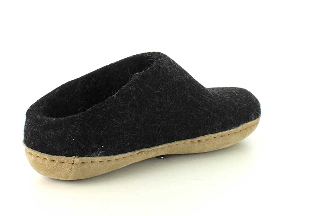 Glerups Unisex Model G Natural Wool Boot Slipper G-01