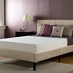 Rest easy with the memory foam support of the Sleep Master Memory Foam mattress from Zinus, pioneers in comfort innovation. The 10 Inch Memory Foam Mattress provides conforming comfort with a memory foam layer that molds to the natural shape ...