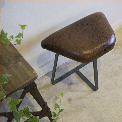 狭い玄関にちょいと置けるスツール choito stool leather(ちょいとスツールレザー)  (ダークブラウン) B00JRUEJHE Parent