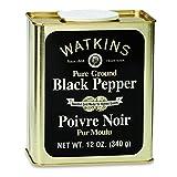 J.R. Watkins Granulated Black Pepper 340g