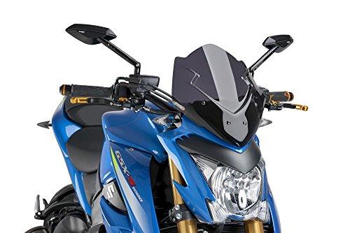(16-17 SUZUKI GSX-S1000: Puig Naked Generation Sport Windscreen (DARK SMOKE))