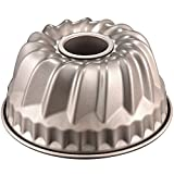 7 inch Bundt Pan for Instant Pot Kugelhopf Mold Flute Baking Pans Flan Pan Nonstick 1 Quart Cake Moulds Gold