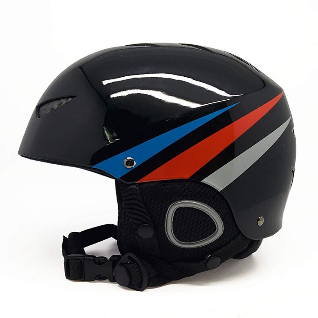 大流行中! 子供用スキーヘルメット男の子女の子スノーボードスポーツ屋外用品ヘッド安全ヘルメット48-54cm/ Medium|黒 54-58cm 54-58cm B07MX6BY29 Medium|黒 黒 黒 Medium, ザッカ ミント:837e52c7 --- a0267596.xsph.ru