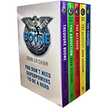 John Grisham, Theodore Boone Series Collection 5 Books Box Set (Theodore Boone, The Abduction, The Accused, The Activist, The Fugitive)