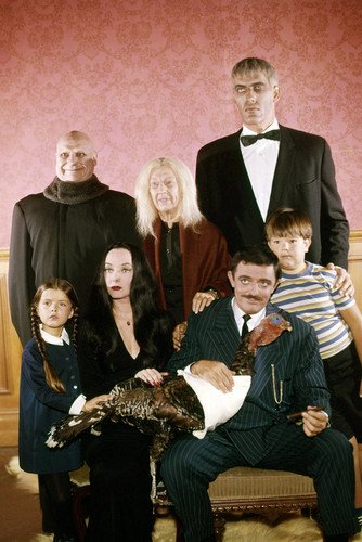 The Addams Family (1964) John Astin Lurch and Cast Tv Cult 24x36 Poster by Silverscreen