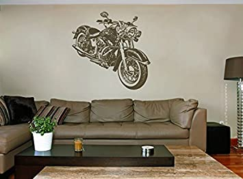 Amazon.com: ik1581 Wall Decal Sticker Motorcycle Power Speed ...