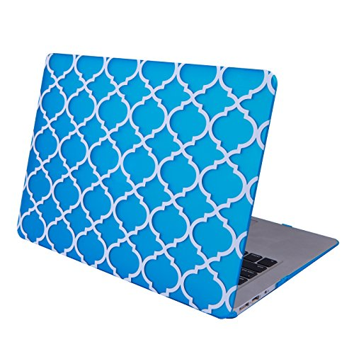 HDE MacBook Quatrefoil Moroccan Designer