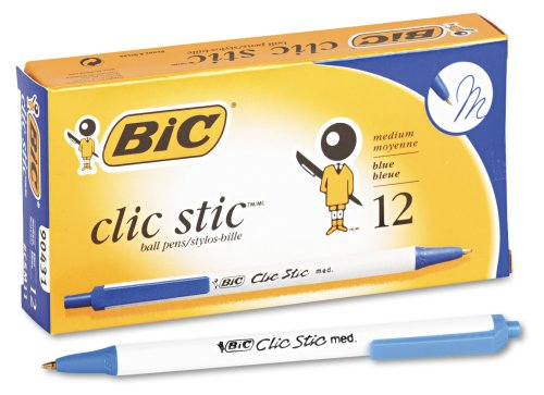 BICCSM11BE Clic Stic Ballpoint Retractable