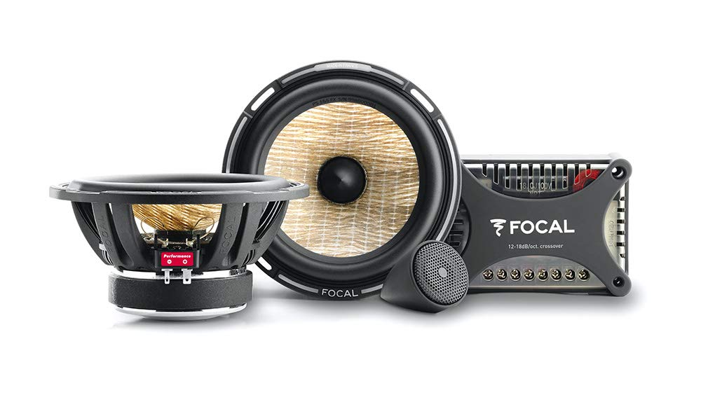 Focal KIT PS165FX 6.5'' Car Audio Speaker 2-Way Component Kit