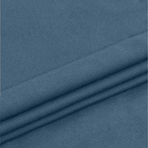 Fluide Tops Longue Grande Chemisier en Blouse Mousseline Tunique Gris v Col Manche Taille Femme Chic Fleasee wWTIqO6c
