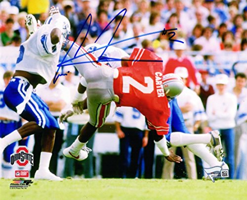 Cris Carter Signed Photograph - 8x10 - Autographed College Photos (Carter Photograph Cris)