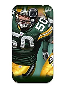 Pretty UvIWIIW4603sBmKX Galaxy S4 Case Cover/ Greenay Packers Series High Quality Case by mcsharks
