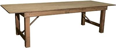"PRE Sales 5003 Pine Wood 108""x40"" Farm Table"