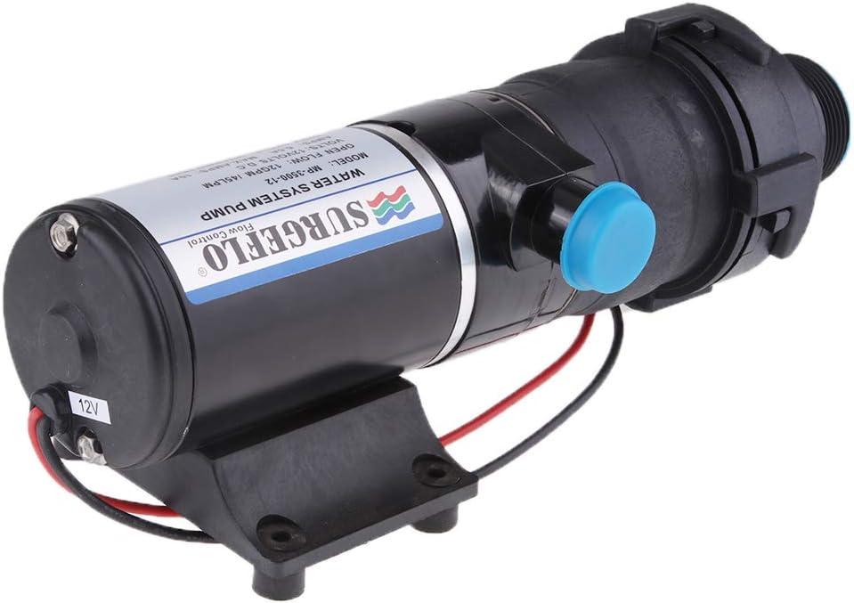 RV Automatic Sewage Pump,12V 12A Max 45L//M 12G//M Plug,High Density Plastic