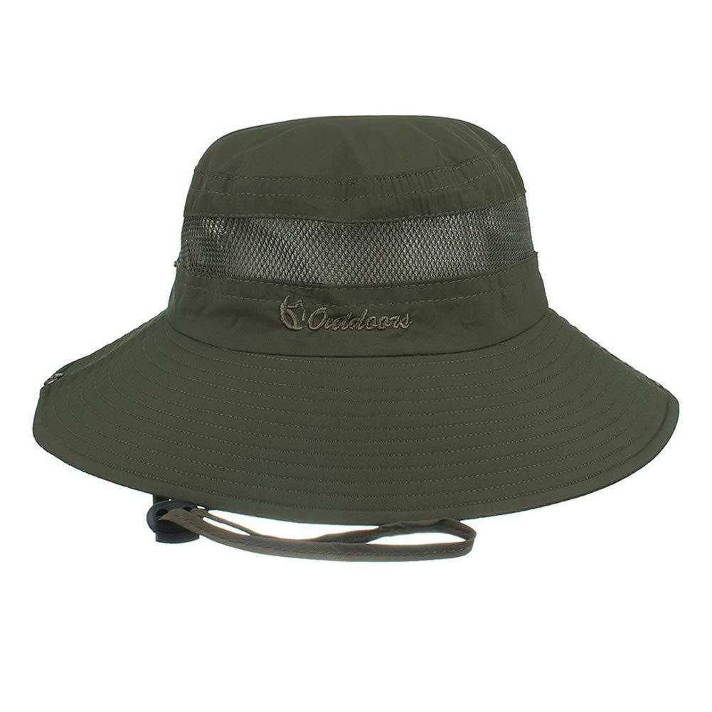 Gorro de Buceo Sombrero de Camping para Mujer Plegable Hombre y ni/ños Sombrero de Pesca Laduup Sombrero de Sol Gorro de Verano protecci/ón UV Exterior Sombrero de Senderismo Playa