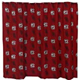 College Covers South Carolina Gamecocks Printed Shower Curtain Cover - 70'' x 72''