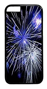 Abstract Fireworks iPhone 6 Hard Case PC - Black, Back Cover Case for Apple iPhone 6(4.7 inch)