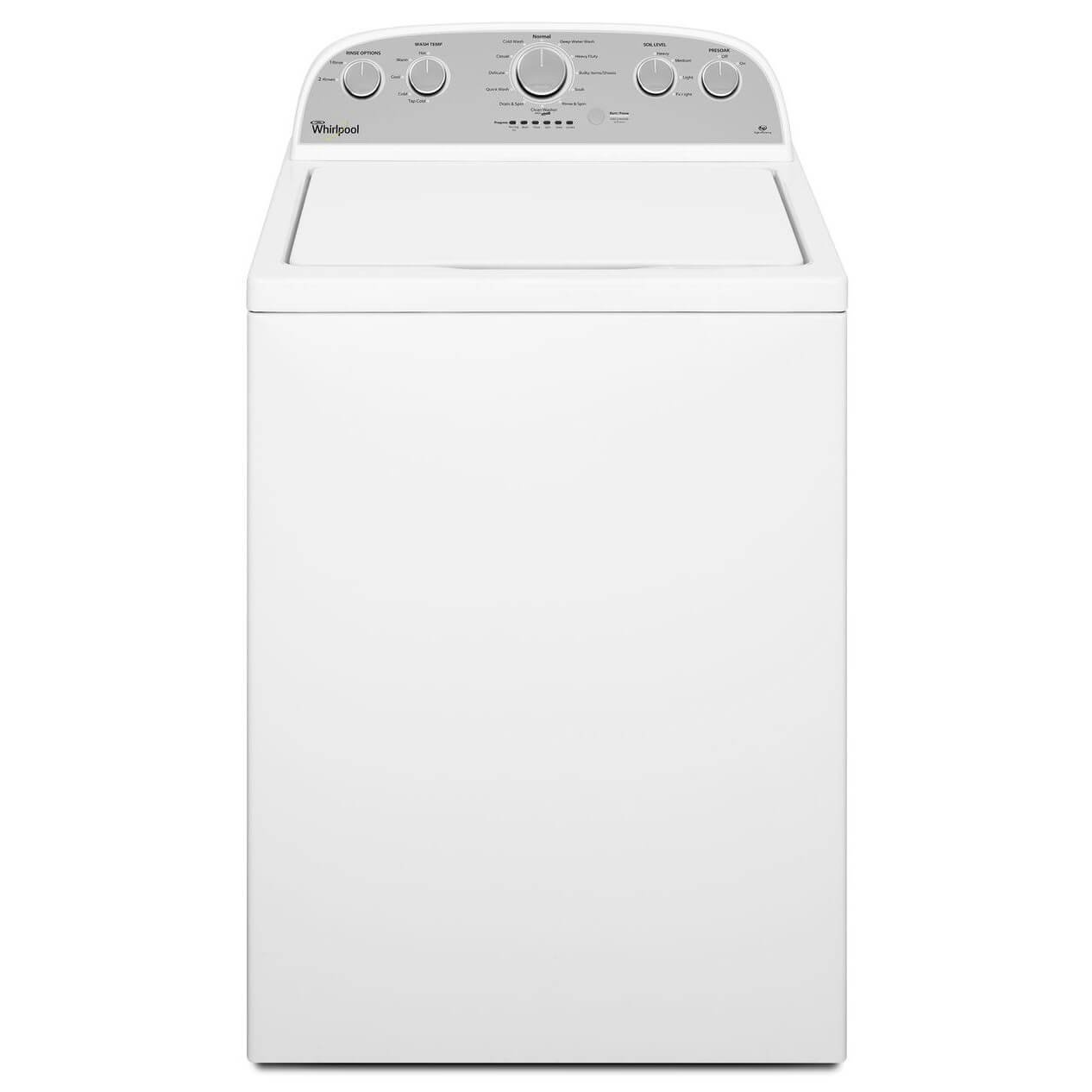 Whirlpool WTW4915EW 3.7 Cu. Ft. Top Load Washing Machine with Energy Star Qualification, White