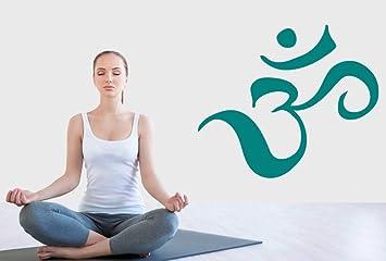 Amazon.com: Om Sign Hindu God Wall Decal Yoga Home ...