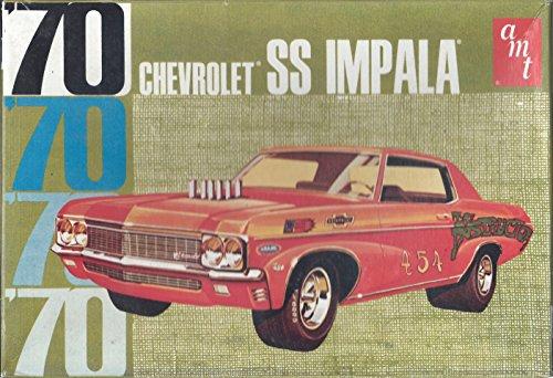 AMT '70 Chevrolet SS Impala Model Car Kit (Impala 70 Chevrolet)