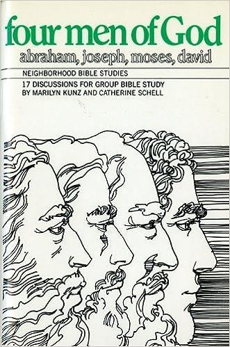 Book Four Men of God (Neighborhood Bible Studies) by Marilyn Kunz (1985-06-02)