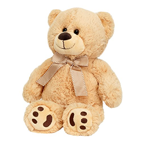 JOON Mini Teddy Bear, Tan, 13 Inches