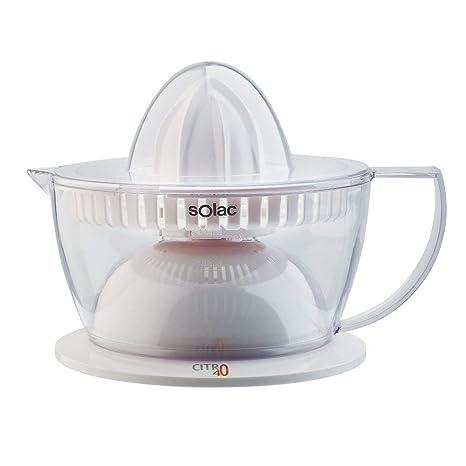 Solac Citro 40 Exprimidor, W, 0.5 litros, Transparente, Color blanco