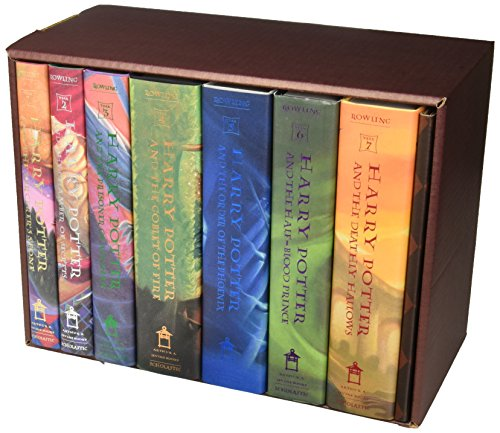 Used Book Buybackharry Potter Hardcover Box Set Books 1 7 By