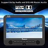 "NAVISKAUTO 10.1"" Blu Ray Dual Car DVD Players"
